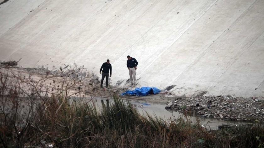 El hallazgo lo realizaron las autoridades cerca del mediodía de ayer.