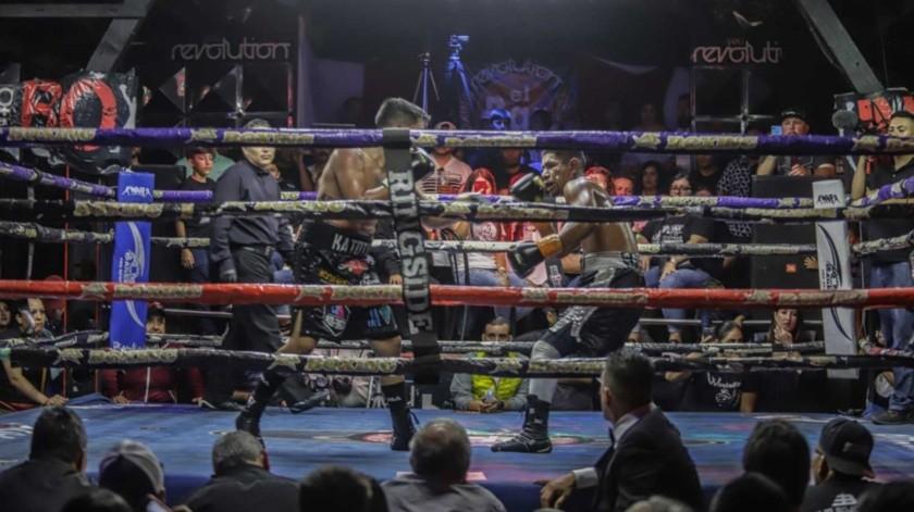 Funciones de boxeo se realizaron en Tijuana en 2018.