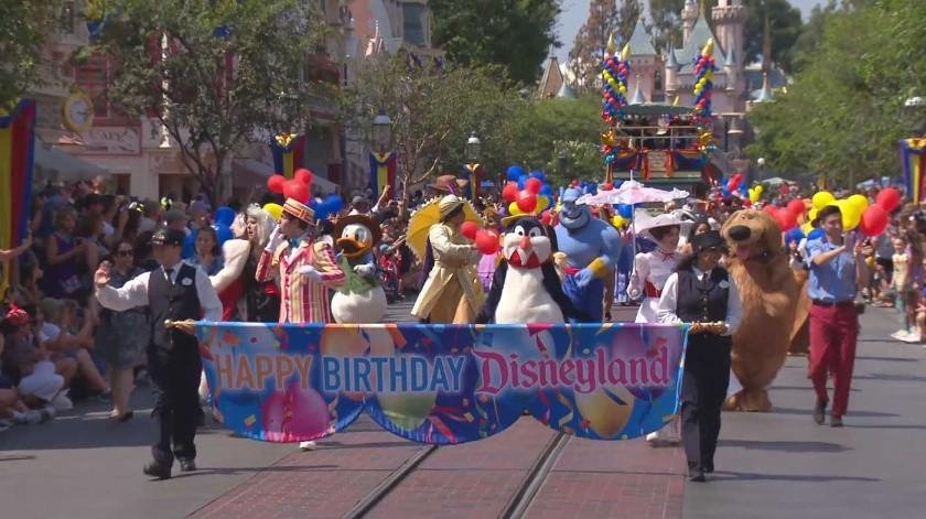 ¡Feliz cumpleaños Disneyland Resort!(Cortesía)