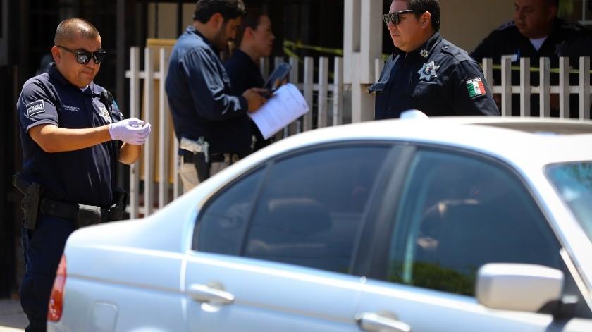 Fue el hermano de la víctima quien acudió al domicilio luego de que vecinos reportaron al 911 sobre gritos de ayuda en la casa y que inicialmente se trató de un caso de violencia familiar.(Victor Medina Gorosave)