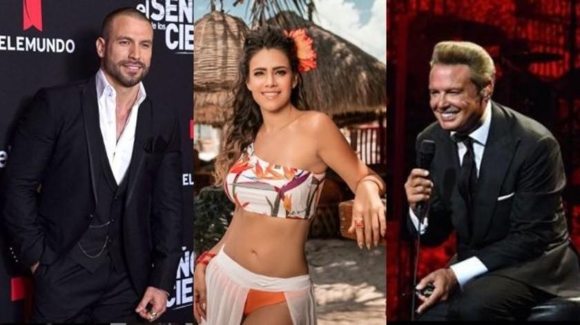 Parece que el encanto de Luis Miguel no conquistó a Luz Elena González quiénse dio el lujo de batearlo.(Tomada de la red)