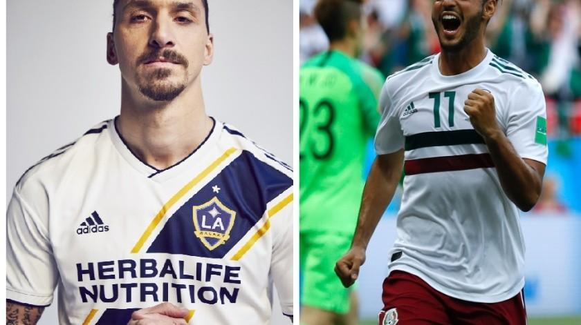 Carlos Vela y Zlatan Ibrahimovic estelarizan el clásico en LA.(GH)