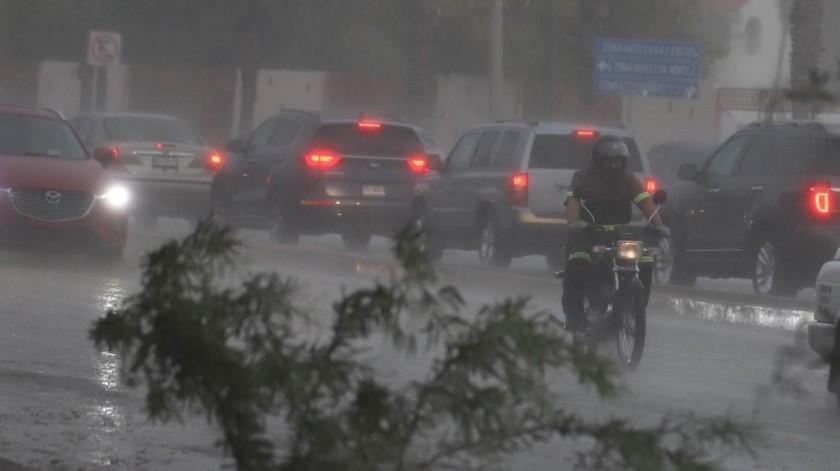 Se esperan más lluvias en distintos municipios de la entidad.(Teodoro Borbón)