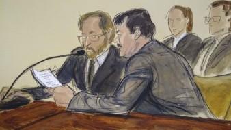 """Joaquín """"El Chapo"""" Guzmán recibió su condena en el tribunal de la corte federal de Brooklyn."""