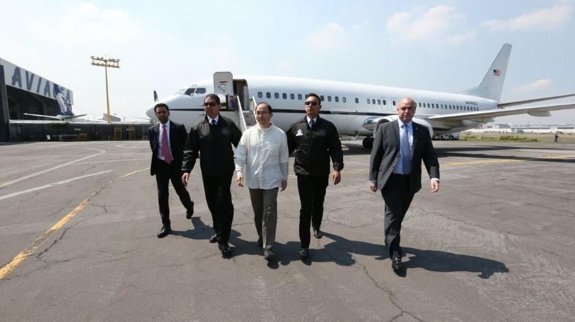 Felipe Calderón dijo que el dinero que le fue asegurado a Zhenli Ye Gon fue utilizado para crear centros de ayuda contra las adicciones.