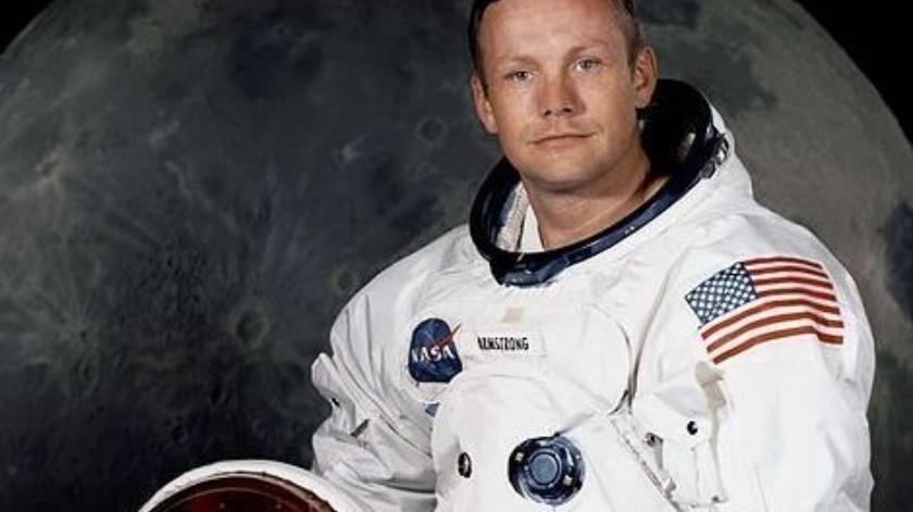 La cámara montada cerca de la ventana del lado derecho de Buzz Aldrin capturó la escena histórica.(Cortesía)
