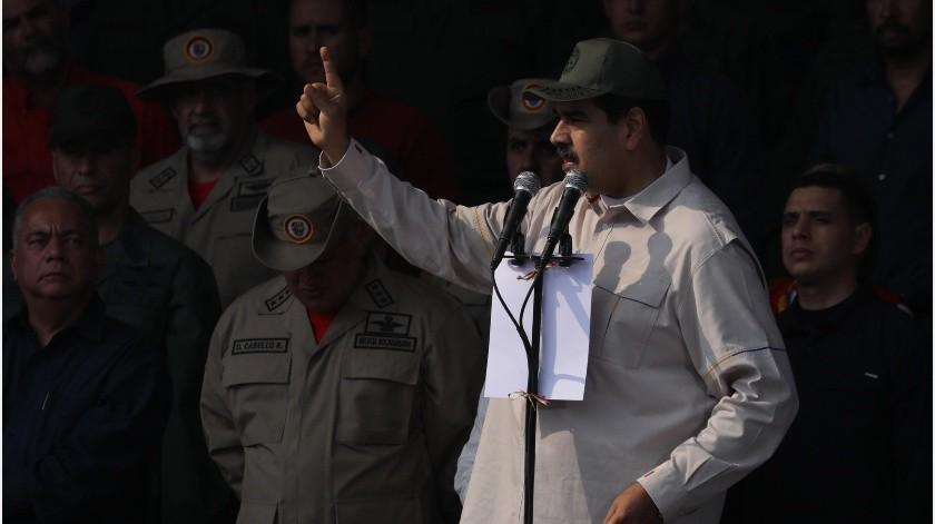 Venezuela atraviesa por un alto pico de tensión política desde enero pasado, cuando Maduro juró otro período de 6 años que no reconocen la oposición y parte de la comunidad internacional.(EFE)