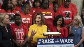 Aprueban demócratas aumento a salario mínimo
