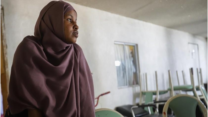 Los migrantes de Somalia han llegado a Tijuana para sumarse a las largas filas para pedir el asilo humanitario en Estados Unidos y su obstáculo principal es que no hablan español ni inglés.