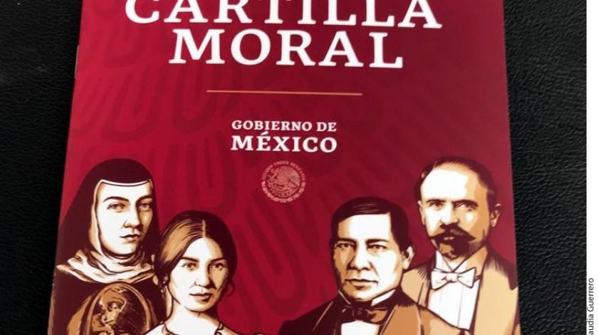 Cartilla Moral(Agencia Reforma)