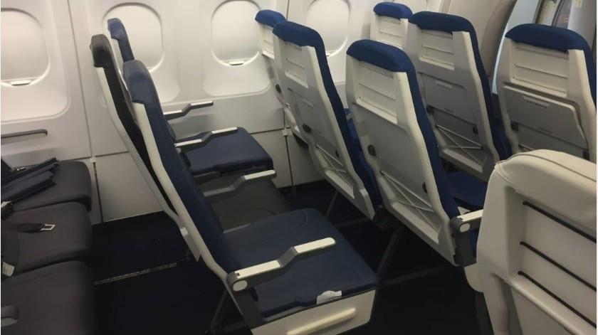 Es una verdad reconocida universalmente que los asientos medios en los aviones son los peores.(Tomada de la red)