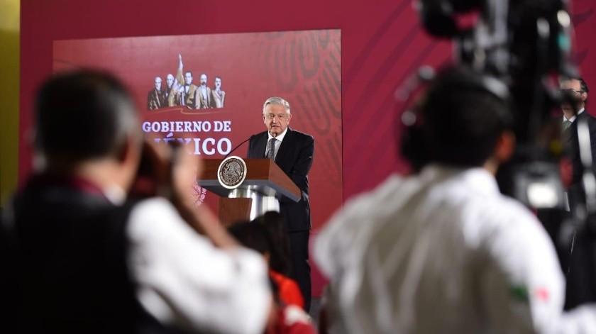 """El presidente Andrés Manuel López Obrador calificó como """"muy buena reunión"""" el encuentro privado con congresistas de Estados Unidos."""