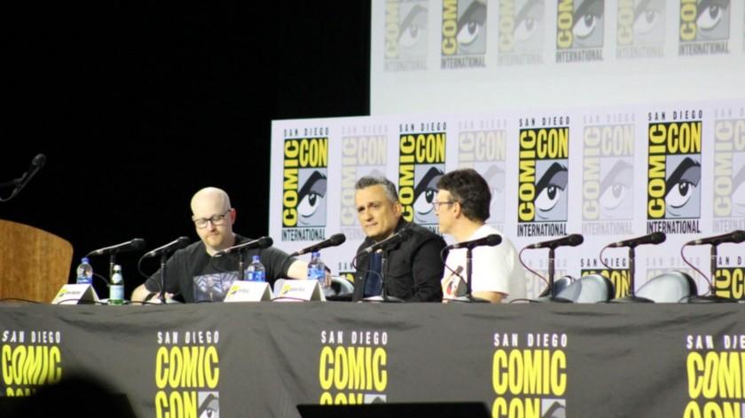 Joe y Anthony Russo revelaron diferentes partes del detrás de escenas de algunas de sus películas dirigidas como parte del mundo de Marvel.(Ana Gómez Salcido)