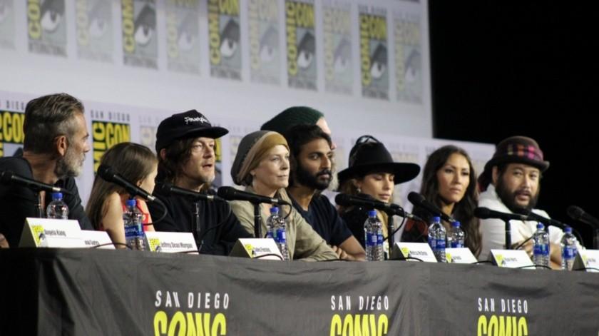 Los actores de Walking Dead en San Diego.(Ana Gómez Salcido)