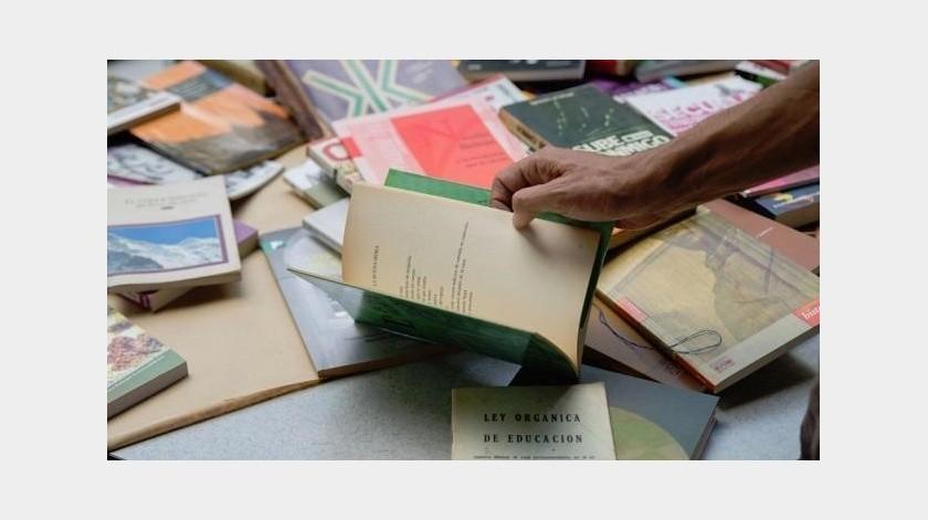 Una biblioteca de Barcelona ha causado sorpresa en España tras lanzar una campaña con la intención de recuperar libros que han sido robados.(Tomada de la red)