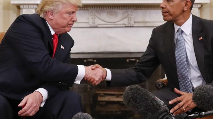 Estados Unidos es mucho menos racista con Donald Trump que con el gobierno de Barack Obama.(AP)