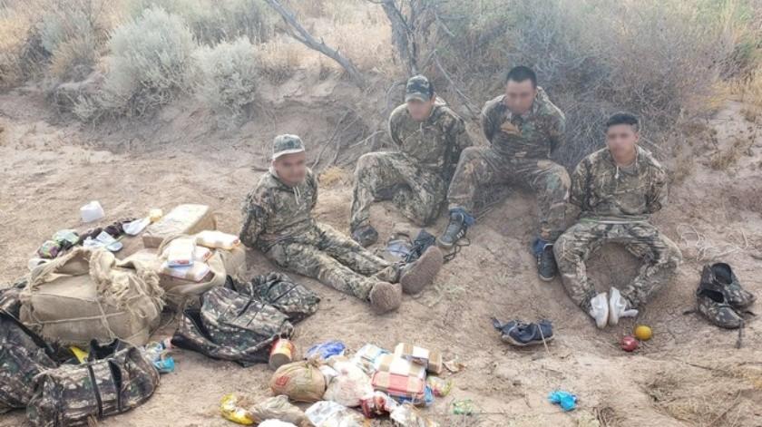 Cuatro eran de Guatemala y uno de México, todos presentes de manera ilegal en la Unión Americana.(Rubén A. Ruiz)