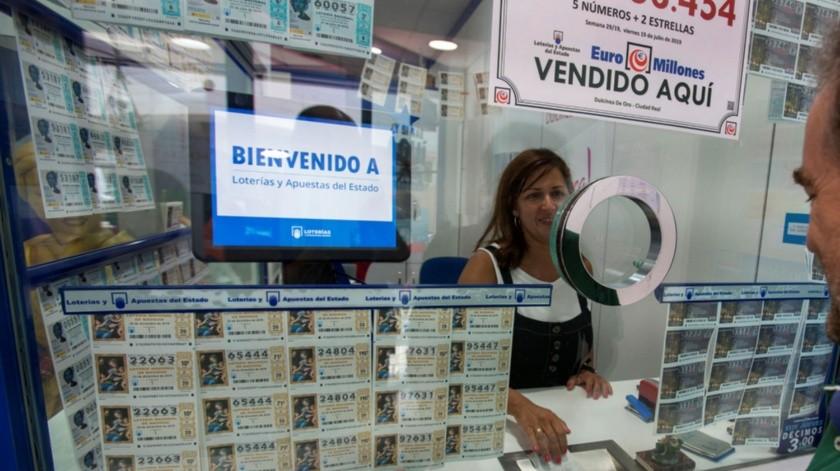 El premio es solo el quinto mayor que la lotería europea deja en España.(EFE)