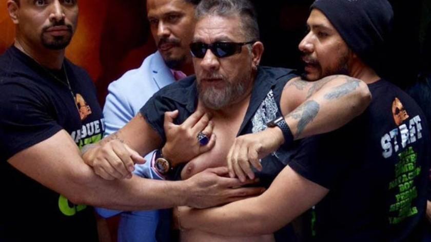 Carlos Trejo compartió en Twitter un video en el que supuestamente el público le muestra su apoyo para el enfrentamiento que tiene pactado con Alfredo Adame.(Tomada de la red)