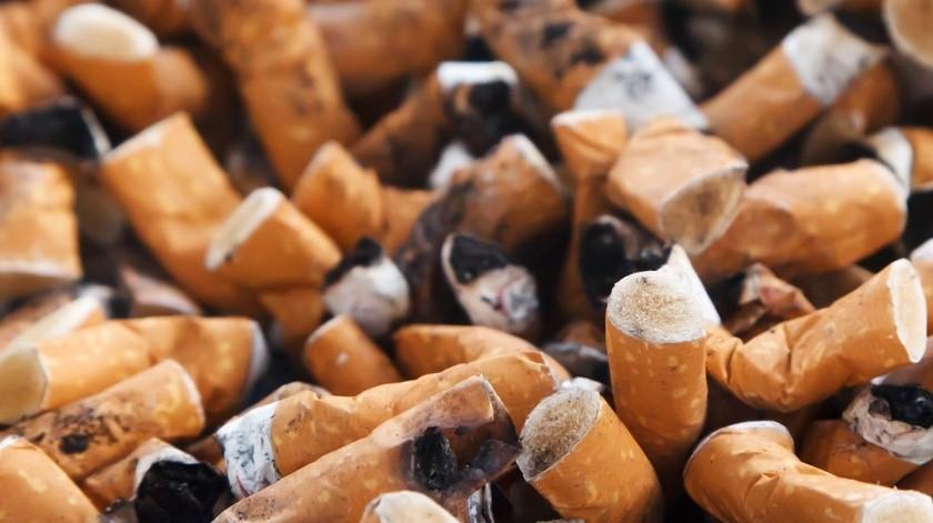 Del 30 al 40% de la basura costera y urbana son colillas de cigarros.(Pixabay)