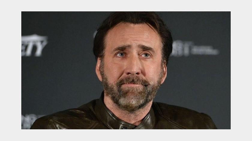 Por una sinusitis aguda Nicolas Cage canceló su asistencia al Festival Internacional de Cine de Guanajuato, que esta noche le rendiría homenaje en esta ciudad.(Tomada de la red)
