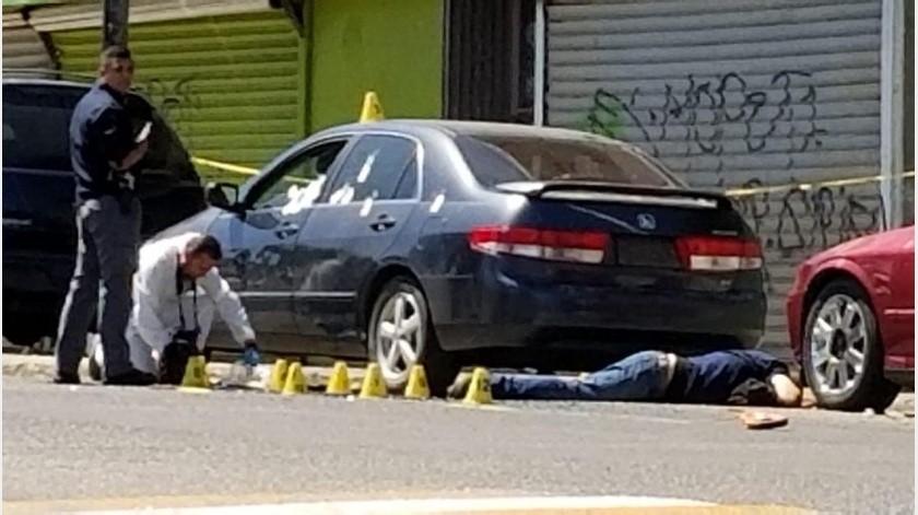 Un agente de la Policia Municipal que se encontraba fuera de servicio fue asesinado a balazos en la colonia Infonavit Lomas del Porvenir hoy por la mañana.(Cortesía)