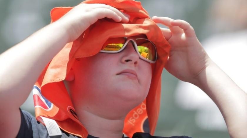 La costa Este de Estados Unidos padeció el domingo una nueva jornada de altas temperaturas.(AP)