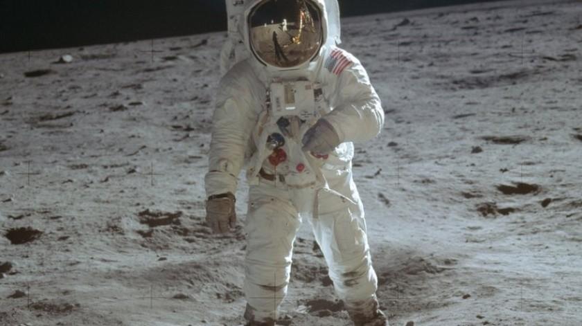 incuenta años después de los primeros pasos del humano sobre la superficie lunar, la Luna es nuevamente tema en la NASA.(AP)