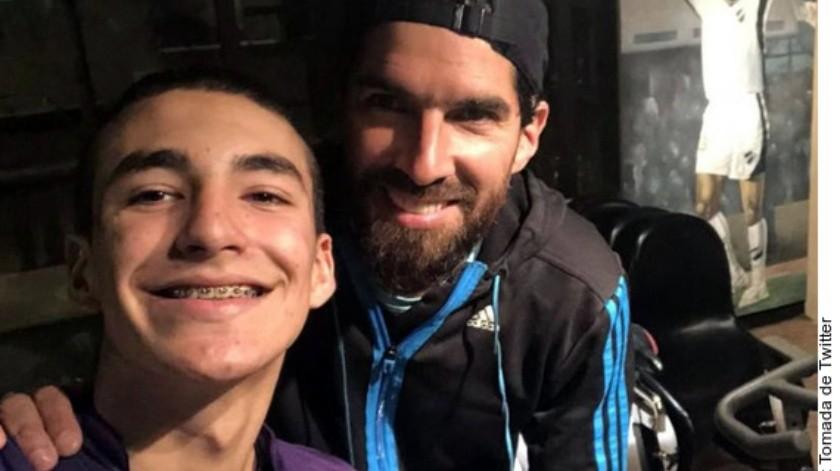 Diego juega de delantero al igual que su padre.(Agencia Reforma)
