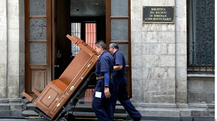 Familia presidencial ya se mudó a Palacio Nacional: AMLO(Agencia Reforma)
