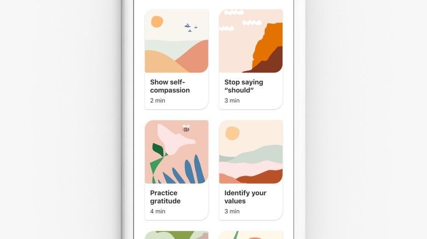 Pinterest da actividades para ayudar a usuarios con el estrés y la ansiedad(Pinterest)