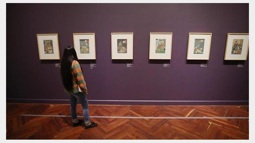 Las piezas artísticas provenientes de Japón que durante años coleccionó el poeta y crítico de arte mexicano José Juan Tablada habitarán desde el próximo 24 de julio algunas salas del Palacio de Bellas Artes de Ciudad de México.(EFE)
