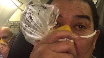 Avión que venía de CDMX a Mexicali tuvo complicaciones