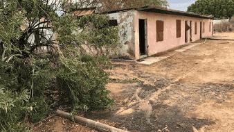 Incendio de chamizos daña una casa en Yuma