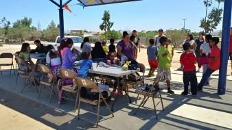 Niños, niñas y jóvenes disfrutaron de un circuito de talleres encaminado a los diferentes oficios de la comunidad.