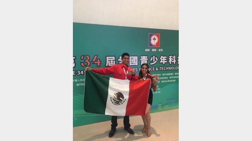 Fabiola Salcido y Joshyer Pérez(Cortesía)