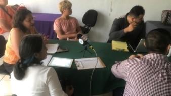 Durante la reunión se presentaron las cédulas de descripción de puesto del personal del instituto.