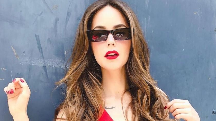 La actriz se encuentra trabajando actualmente en la telenovela: Rubí.