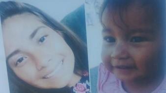 La Procuraduría General de Justicia del Estado informa que se ha activado una Alerta Amber en Baja California, para dar con el paradero de la menor de 16 años Paulina Anahí Martínez Garmendia y su hija de 1 año y 4 meses Isabella Elizabeth Martínez Garmendia.