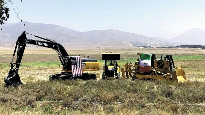 Este miércoles iniciaron los trabajos frente a autoridades de ambos lados de la frontera.