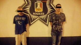 Capturan a  presuntos multiasaltantes en Nogales