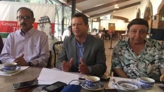 Manuel Alonso Marín Salazar, representantes del INM en BC, estuvo como invitado en el Grupo Político Tijuana.