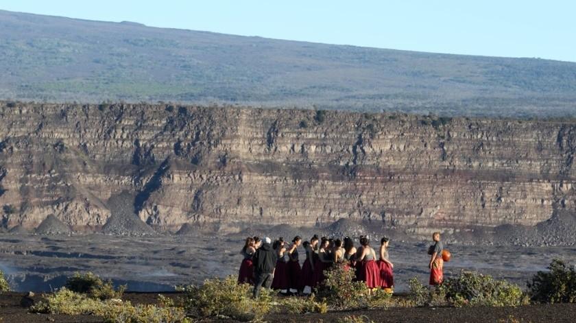 Este jueves, científicos del Servicio Geológico de Estados Unidos confirmaron la presencia de agua.(AP)