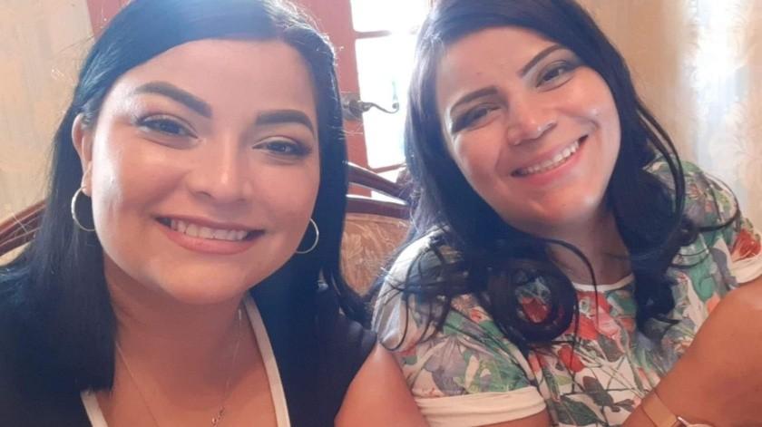 Pruebas de ADN confirman que Joselinne Poleth y Nadia son hermanas.(CORTESÍA)