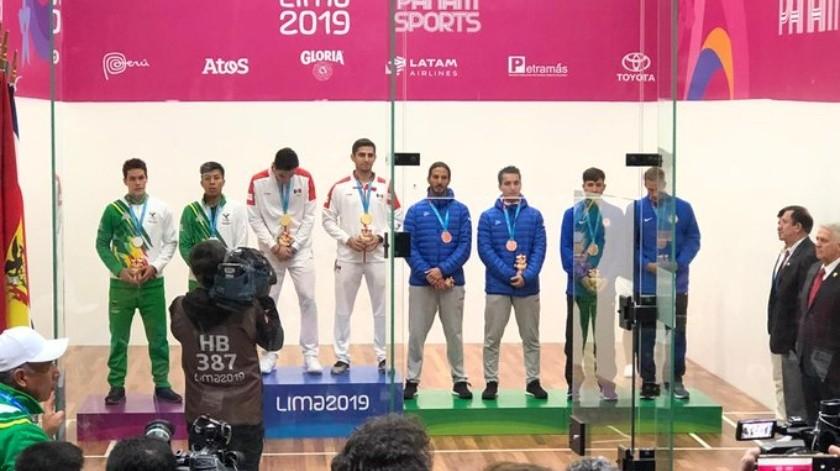 Antes estas declaraciones, los deportistas agradecieron que se les reconozca el esfuerzo que hacen en nombre de México.