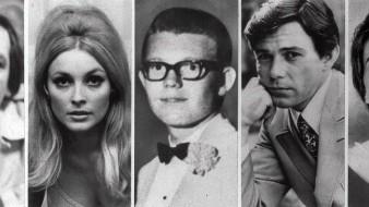 Esta combinación de fotos muestra a las cinco víctimas asesinadas la noche del 9 de agosto de 1969 en el Benedict Canyon Estate de Roman Polanski y Sharon Tate. Desde la izquierda, Wojciech Frykowski, Sharon Tate, Stephen Parent, Jay Sebring y Abigail Folger.