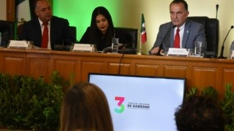 Marco Novelo recalcó que en su administración se han generado las condiciones para que en este periodo, se hayan captado inversiones nacionales y extranjera por más de 8 mil millones de pesos en 11 empresas.
