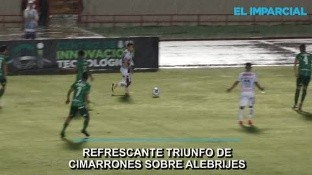 El jueves de Ascenso MX significó un debut como local de tres puntos para Cimarrones, en el Héroe de Nacozari.