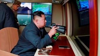 """Lanzamientos de """"nueva arma"""" son supervisados por Kim Jong-un"""