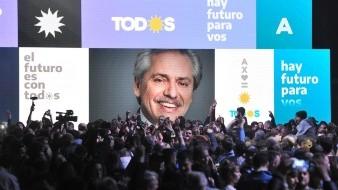 Con el 80,35 % de mesas escrutadas, Fernández obtuvo un 47,10 % de los sufragios.